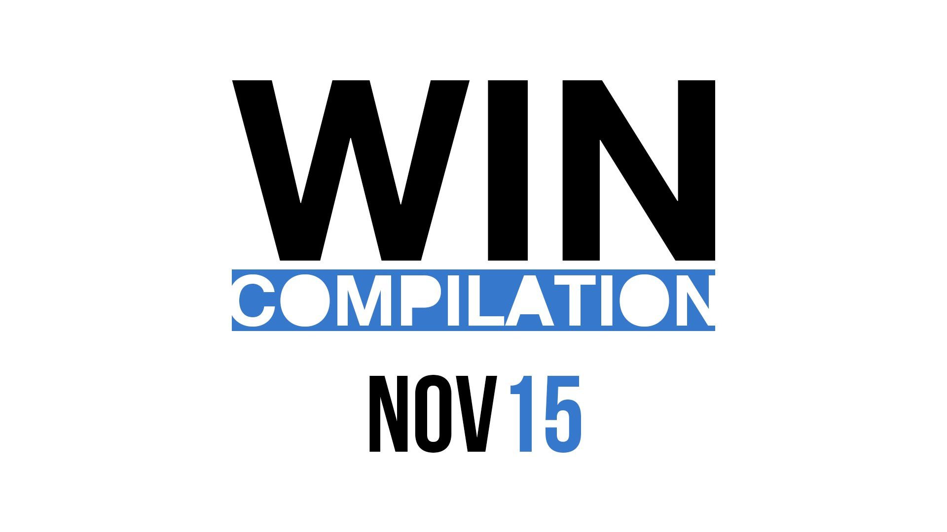 Win-Compilation November 2015